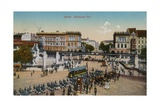 Hallesches Tor, Berlin. Postcard Sent in 1913 Giclee Print by  German photographer