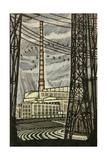 Novovoronezh Nuclear Power Plant, 1969 Giclee Print by Masabikh Akhunov
