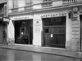 Americanization of an Hotel-Restaurant 'Grand Teddy', Rue Caumartin, Paris, 1918 Photographic Print by Jacques Moreau
