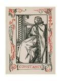 Constance, King John Giclee Print by Robert Anning Bell