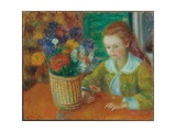 The Breakfast Porch, c.1920 Giclee Print by William James Glackens