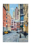 Pearl Paint, Pearl Paint, Canal St. from Mercer St., NYC, 2012 Giclee Print by Anthony Butera