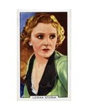 Lorna Storm, 1935 Giclee Print