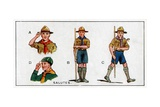 Scout Salutes, 1929 Giclee Print by  English School
