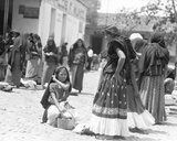 Market in Tehuantepec, Mexico, 1929 Photographic Print by Tina Modotti