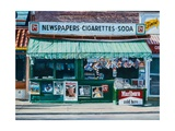 Newspaper Stand, West Village, NYC, 2012 Giclee Print by Anthony Butera