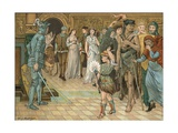 The Masque Giclee Print by Walter Jenks Morgan