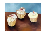 Three Cakes, 1998 Giclee Print by Ann Brain