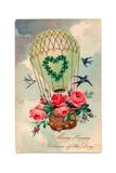 Birthday Postcard, c.1907 Reproduction procédé giclée par  English School