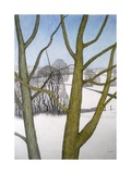 Winters Day, 2013 Giclee Print by Ann Brain