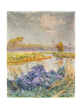 La Lys - de Leie, c. 1902 Giclee Print by Emile Claus