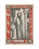 Isabella, Measure for Measure Giclee Print by Robert Anning Bell