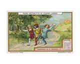 The Legend of St Nicholas Giclee Print by  European School