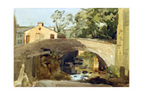 Hawes Bridge, Wensleydale, 1904 Giclee Print by Philip Wilson Steer