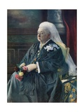 Queen Victoria Giclee Print by  English Photographer