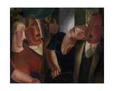 Village Sweethearts Giclee Print by Frits van den Berghe