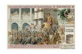 Emperor, Caesar Augustus Giclee Print by  European School