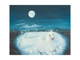 White Song, 1996 Giclee Print by Magdolna Ban