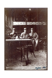Soldiers in a Cafe, Dijon, 1915 Giclee Print