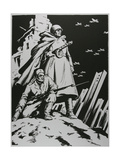 Defenders of the Soviet Union - Soldiers, 1957 Giclee Print by Masabikh Akhunov