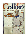 Count Von Moltke, Front Cover of Collier's Magazine, 1917 Giclee Print by Edward Penfield