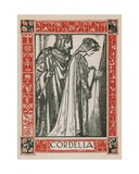 Cordelia, King Lear Giclee Print by Robert Anning Bell