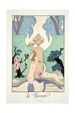 Lust, from 'Falbalas and Fanfreluches, Almanach des Modes Présentes, Passées et Futures', 1925 Giclee Print by Georges Barbier