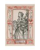 Perdita, A Winter's Tale Giclee Print by Robert Anning Bell