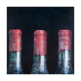 Three Dusty Clarets, 2012 Giclee Print by Lincoln Seligman