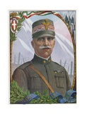 Victor Emmanuel III, the Soldier King Giclee Print by Tancredi Scarpelli