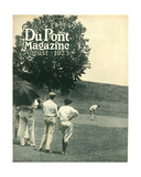 Golfing, Front Cover of the 'Dupont Magazine', August 1923 Giclee Print by  American School