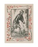 Imogen, Cymbeline Giclee Print by Robert Anning Bell