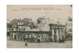 Dax - the Warm Water Spring - Source from Nebe. Postcard Sent in 1913 Giclee Print by  French Photographer