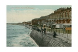 Lower Parade, East Cliff, Ramsgate. Postcard Sent in 1913 Giclee Print by  English Photographer