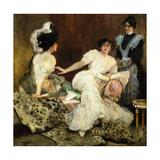 The Confidante, 1910 Giclee Print by Jose Villegas Cordero