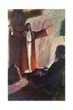 Jesus and Nicodemus Giclee Print by Corwin Knapp Linson