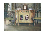 Painted Commode and Chairs Giclee Print by Edwin John Foley
