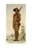 Australian Infantry, 1938 Giclee Print