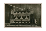 Illuminated Tram to Commemorate the Visit of the King and Queen to Oldham, 12 July 1913. Postcard… Giclee Print by  English Photographer