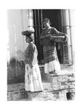 Tina Modotti - Women in Tehuantepec, Mexico, 1929 Fotografická reprodukce