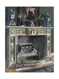 Wedgwood-Flaxman Chimneypiece Giclee Print by Edwin John Foley