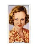 Wendy Barrie, 1935 Giclee Print