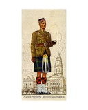 Regimental Sergeant-Major of the Cape Town Highlanders, South Africa, 1938 Giclee Print