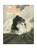 Train, Front Cover of the 'Dupont Magazine', March 1923 Giclee Print by  American School