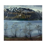 Grey Spring Evening, 1909 Giclee Print by Nikolai Astrup