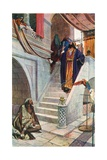 The Rich Man and Lazarus Giclee Print by Corwin Knapp Linson
