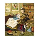 Baby Giclee Print by  English School