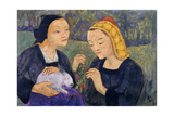 The Fees; Les Fees, 1926 Giclee Print by Paul Serusier