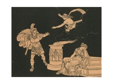 Aeneas and Helen Giclee Print by Bartolomeo Pinelli