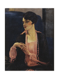 Portrait of a Woman, Half Length, 1905 Giclee Print by William Kay Blacklock